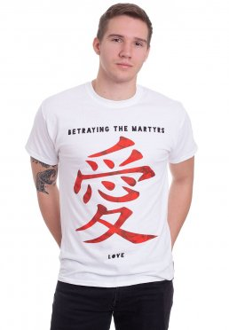 Betraying The Martyrs - Love White - T-Shirt