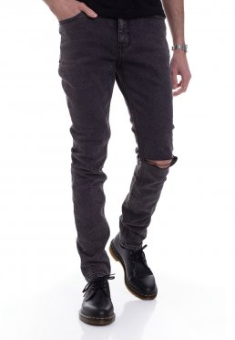 Cheap Monday - Sonic Slash Black - Jeans