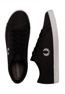Fred Perry - Baseline Ripstop Black/White - Shoes