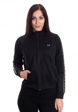 Fred Perry - Taped Black - Track Jacket