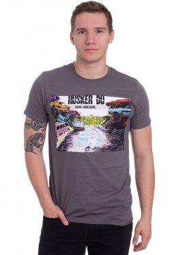 Hüsker Dü - Zen Arcade Grey - T-Shirt