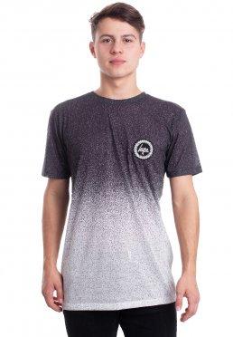 HYPE. - Mono Speckle Fade Black/White - T-Shirt