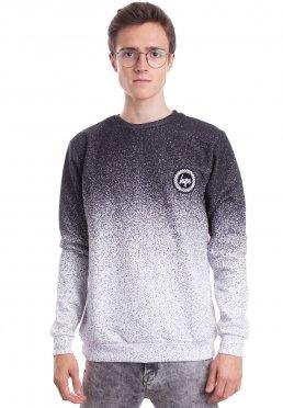 HYPE. - Mono Speckle Fade Black/White - Sweater