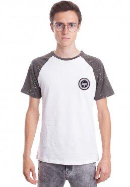HYPE. - Splat Raglan White/Khaki - T-Shirt