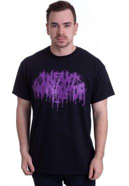 Infant Annihilator - Purple Logo - T-Shirt