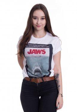 Jaws - Vintage Original Poster White - T-Shirt