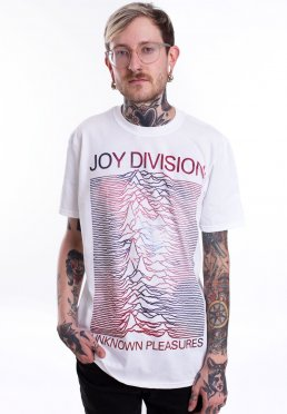 Joy Division - Space Unknown Pleasure White - T-Shirt