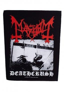 Mayhem - Deathcrush - Backpatch