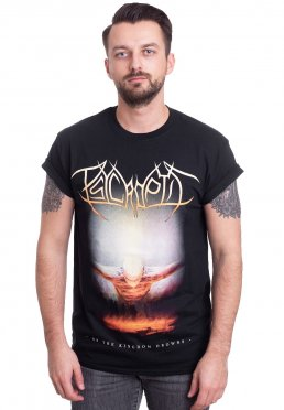Psycroptic - As The Kingdom Drowns Album Cover - T-Shirt