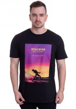 Queen - Behemian Rhapsody Poster - T-Shirt