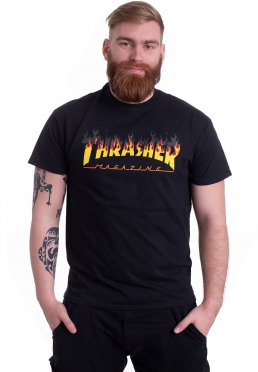 Thrasher - BBQ Black - T-Shirt