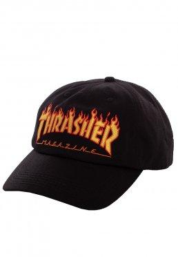 Thrasher - Flame Old Timer Black - Cap