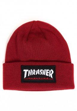 Thrasher - Logo Patch Maroon - Beanie