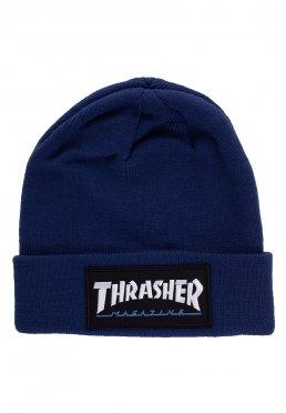 Thrasher - Logo Patch Navy - Beanie