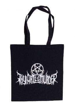 685e21a07ef8 Adicionar aos Favoritos · Thy Art Is Murder - Pentagram Logo - Tote Bag