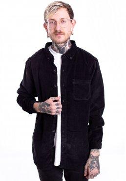 Urban Classics - Corduroy Black - Shirt