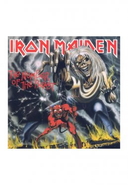 6ed8d024e29c73 Add to favorites · Iron Maiden - The Number Of The Beast - CD