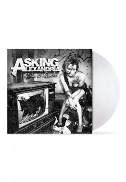 61f8088a720 Add to favorites · Asking Alexandria - Reckless And Relentless Transparent  Cloudy Clear - Colored LP