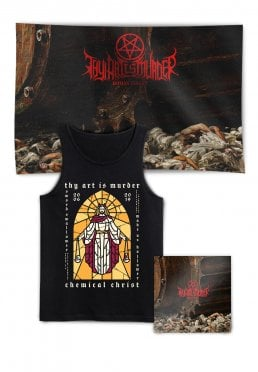 950b7e6b39e545 Add to favorites · Thy Art Is Murder - Human Target Stained Class Deluxe  Special Pack - Tank
