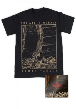 0fb2ede1 Add to favorites · Thy Art Is Murder - Human Target Cover Special Pack - T- Shirt