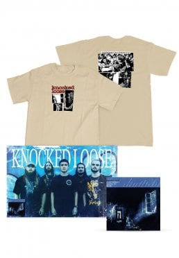 42ea9858a14f Přidat do seznamu přání · Knocked Loose - A Different Shade Of Blue  Fractures Tan Special Pack - T-Shirt