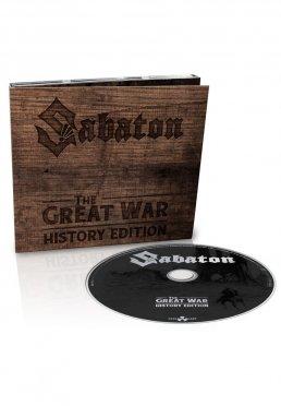 94a9bddbc2ad0 Add to favorites · Sabaton - The Great War (History Edition) - Digipak CD