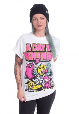 44b99eb6 Add to favorites · A Day To Remember - Keep Running Your Mouth White - T- Shirt