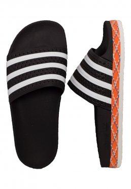 dc2b6ebef4 Add to favorites · Adidas - Adilette New Bold Core Black White Core Black -  Girl Sandals