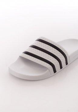 7e84d6c85e8 Adidas - Adilette White Core Black White ...