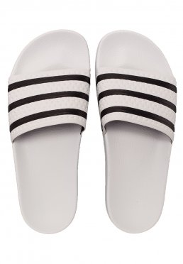 fb6d1f898 Add to favorites · Adidas - Adilette White Core Black White - Sandals