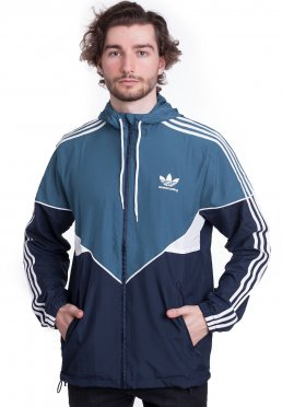 Add to favorites · Adidas - Premiere Real Teal Collegiate Navy White -  Windbreaker 57731047e027d