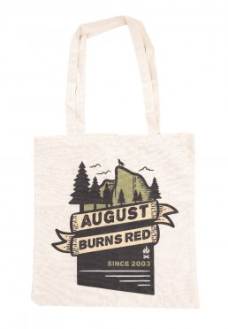 5c6ad5b0d1c Add to favorites · August Burns Red - Mountain Wolf Natural - Tote Bag
