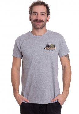 3df4441d246 Add to favorites · August Burns Red - Mountainwolf Sportsgrey - T-Shirt
