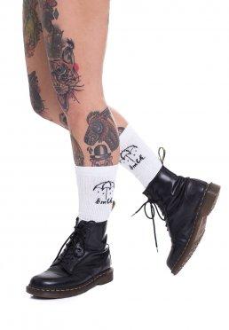 Add to favorites · Bring Me The Horizon - Umbrella White Knee High - Socks e68fd4166