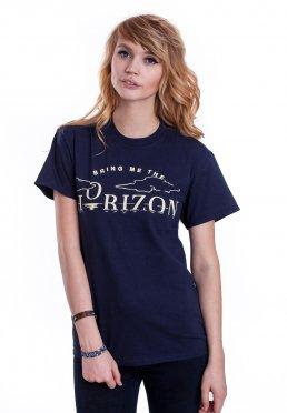cf1754c36 Add to favorites · Bring Me The Horizon - Horizon Navy - T-Shirt