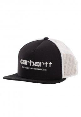 Carhartt WIP - Carhartt WIP Trucker Black White White - Lippis f66df5abd7