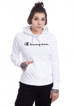 99bb19ef6f Add to favorites · Champion - Hooded Logo White - Hoodie