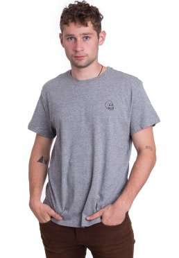 32f04f20 Add to favorites · Cheap Monday - Standard Tiny Skull Grey Melange - T-Shirt