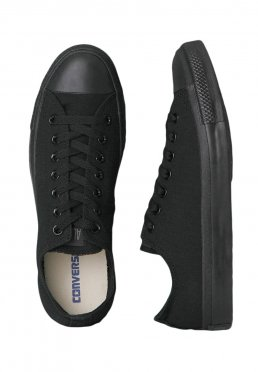 900545bbf6f2 Add to favorites · Converse - Chuck Taylor All Star Ox Black Monochrome - Girl  Shoes