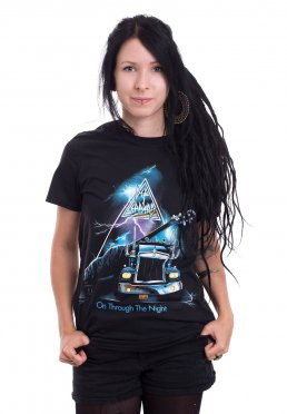 6eb4222a Add to favorites · Def Leppard - On Through The Night - T-Shirt