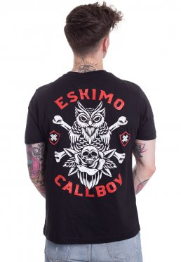 T-shirts Deadly Silence T-shirt Online Shop Herrenmode Eskimo Callboy