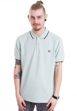 e24a0c44 ... Fred Perry - Twin Tipped Mint/Snow White/Black - Polo