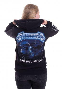 Metallica 'Ride The Lightning' Zip Up