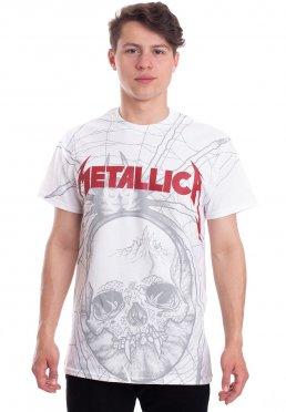 304e4655ab2a Toevoegen aan wensenlijst · Metallica - Spider Allover White - T-Shirt