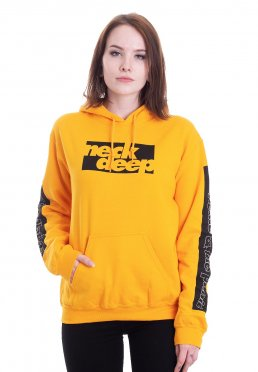 Official Mens Band Neck Deep Hoody Hoodie Top