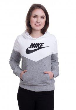 a54af2c4fc85 Add to favorites · Nike - Heritage Dark Grey Heather White Black - Hoodie