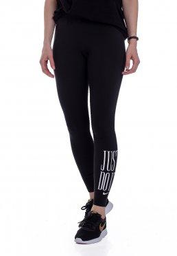 e65ca1e7216858 Zu Favoriten hinzfügen · Nike - Sportswear Black White - Leggings