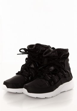 best website 97fad 0718e ... Nike - Tanjun High Rise Black Black Anthracite White - Girl Shoes