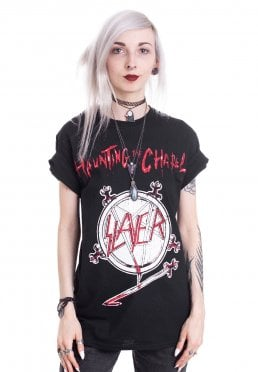 8e8f5d5a Add to favorites · Slayer - Haunting The Chapel - T-Shirt