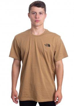 cad931993b Zu Favoriten hinzfügen · The North Face - Simple Dome British Khaki -  T-Shirt